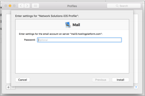 how to set up mail on mac